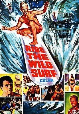 Ride The Wild Surf - 1964 - Movie Poster