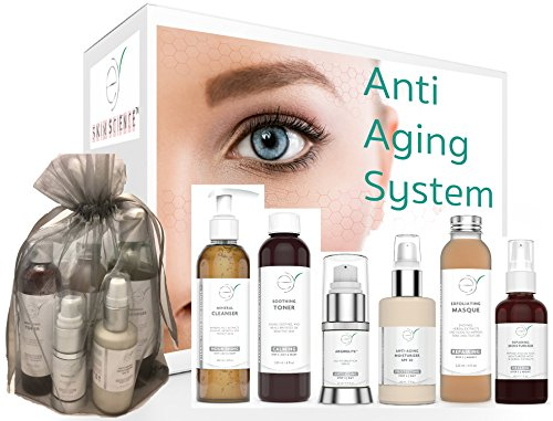 Anti Aging Beauty Set - 67% OFF - Anti-Aging Skincare System - Look Your Best With This Six Step Facial-From-Home Age-Defying Skincare Set by Eternal Youth Skin Science