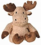 Greenline Value Microwaveable Light Brown Moose With Premium Lavender Filling Machine Warmies Beddy Bears