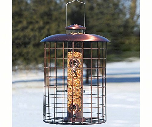 2 PACK Coppertop Cages 6-Port Seed Feeder by Woodlink