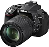 Nikon D3500 DX-Format DSLR Two Lens Kit with AF-P DX Nikkor 18-55mm f/3.5-5.6G VR & AF-P...