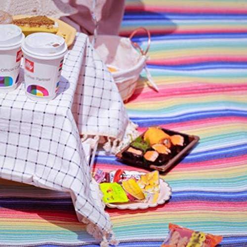 ZINIUKEJI 5-8 Persone Outdoor Super Grande Coperta di Picnic Portatile Impermeabile e umidità Tenda Mat Camping Park