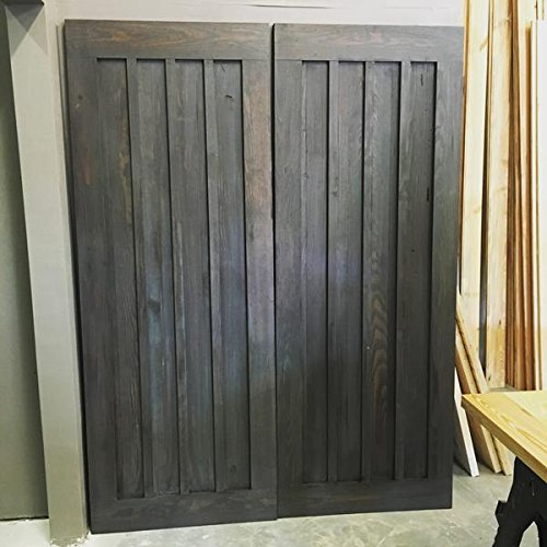 Board and Batten Stripe Sliding Barn Door