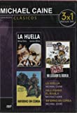La Huella (Sleuth) 1972 / Infierno En Corea (A Hill in Korea (Hell in Korea)) 1956 / Ha Llegado El Aguila (The Eagle Has Landed) 1976 (Dvd Slim) (Spanish Import) (3 Movies on 1 Dvd)