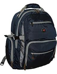 SwissGear Breaker Laptop Backpack With 16 Laptop Pocket & 10 Tablet Pocket-Blue