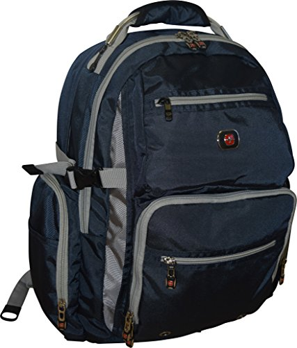 SwissGear Breaker Laptop Backpack Pocket Blue