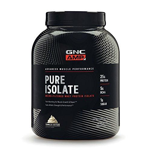 GNC AMP Pure Isolate – Vanilla Custard For Sale