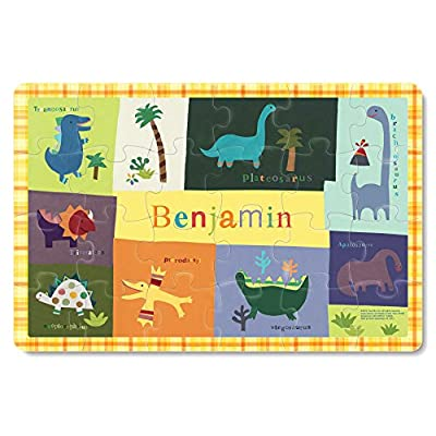 Jigsaw Puzzles for Kids Ages 3-5 Year Old 24 Piece, Toddler Children Learning Educational Toys for Boys and Girls,Dinosaur, Trex, Tyrannosaurus, Triceratops: Toys & Games