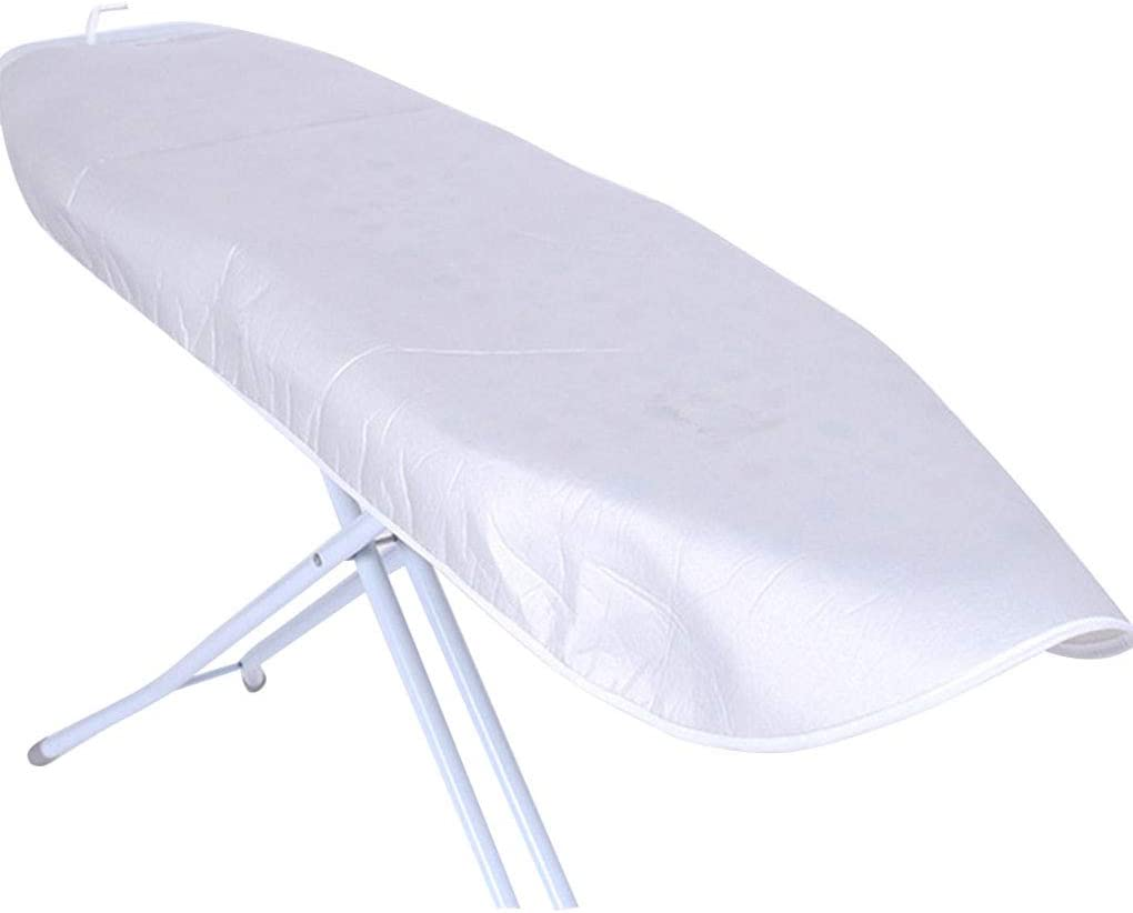 LEVEL GREAT Silver Coated Padded Ironing Board Cover Universal Heat Reflective Drawstring Scorch Stain Resistant Boards Protector 130*50cm