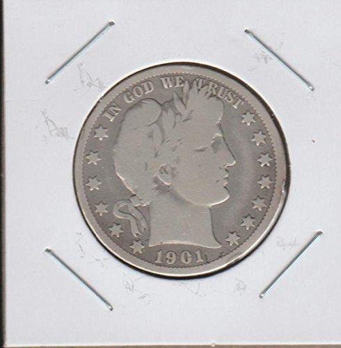 1901 O Barber or Liberty Head (1892-1915) Half Dollar Fine