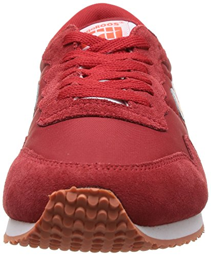 rot Rosso Da Sneakers basic Kangaroos red Invader Uomo 600 7wH61Ynvq
