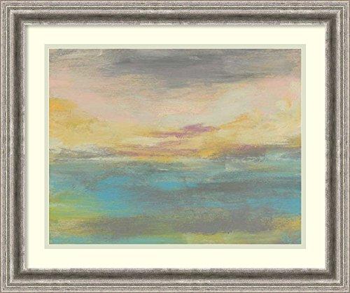 Framed Art Print 'Sunset Study IV' by Jennifer Goldberger