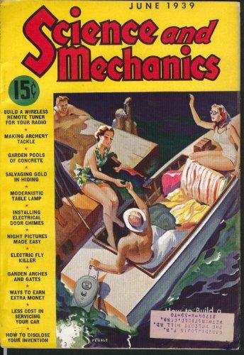 (SCIENCE & MECHANICS Garden Concrete Pools Electrical Door Chimes 6 1939 )