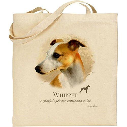 Howard Robinson: cane di razza Whippet, in cotone, colore: naturale