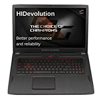 HIDevolution ASUS ROG Strix GL702ZC 17.3 inch Gaming Laptop | 3.0 GHz AMD RYZEN 7 1700, AMD Radeon RX 580, 32GB DDR4/2400MHz, PCIe 256GB SSD + 1TB HDD| Authorized Performance Upgrades & Warranty