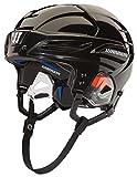 Warrior PX3H5 Ice Hockey Players Helmet, Black, Large