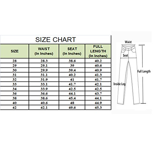 Taille Geurzc Jean Denim Skinny Blanc Motard Pour Homme Hommes Droite Slim Biker Pantalons Grande Stretch Jeans Coupe Straight rwxqgan7r4