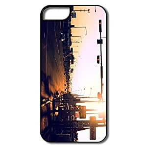 IPhone 5S Cases, Highway USA White/black Covers For IPhone 5 5S