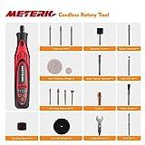 Meterk Cordless Rotary Tool 7.4V Mini DIY Electric