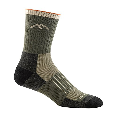 Darn Tough Vermont Men's Hunter Micro Crew Cushion Socks made in Vermont