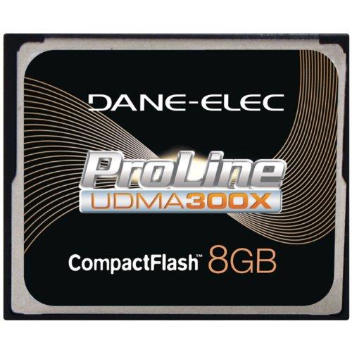 (Dane-Elec High Speed 300X 8 GB USB 2.0 Compact Flash Card UDMA DA-CF30-08G-C )