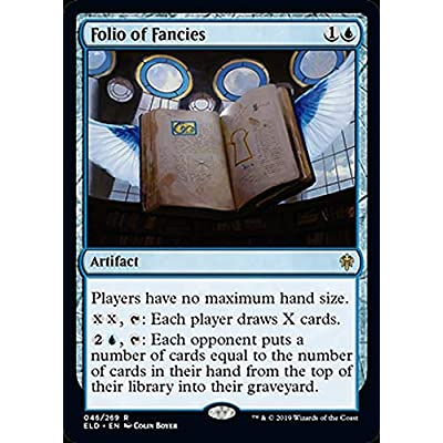 Magic: The Gathering - Folio of Fancies - Throne of Eldraine: Toys & Games [5Bkhe1205782]