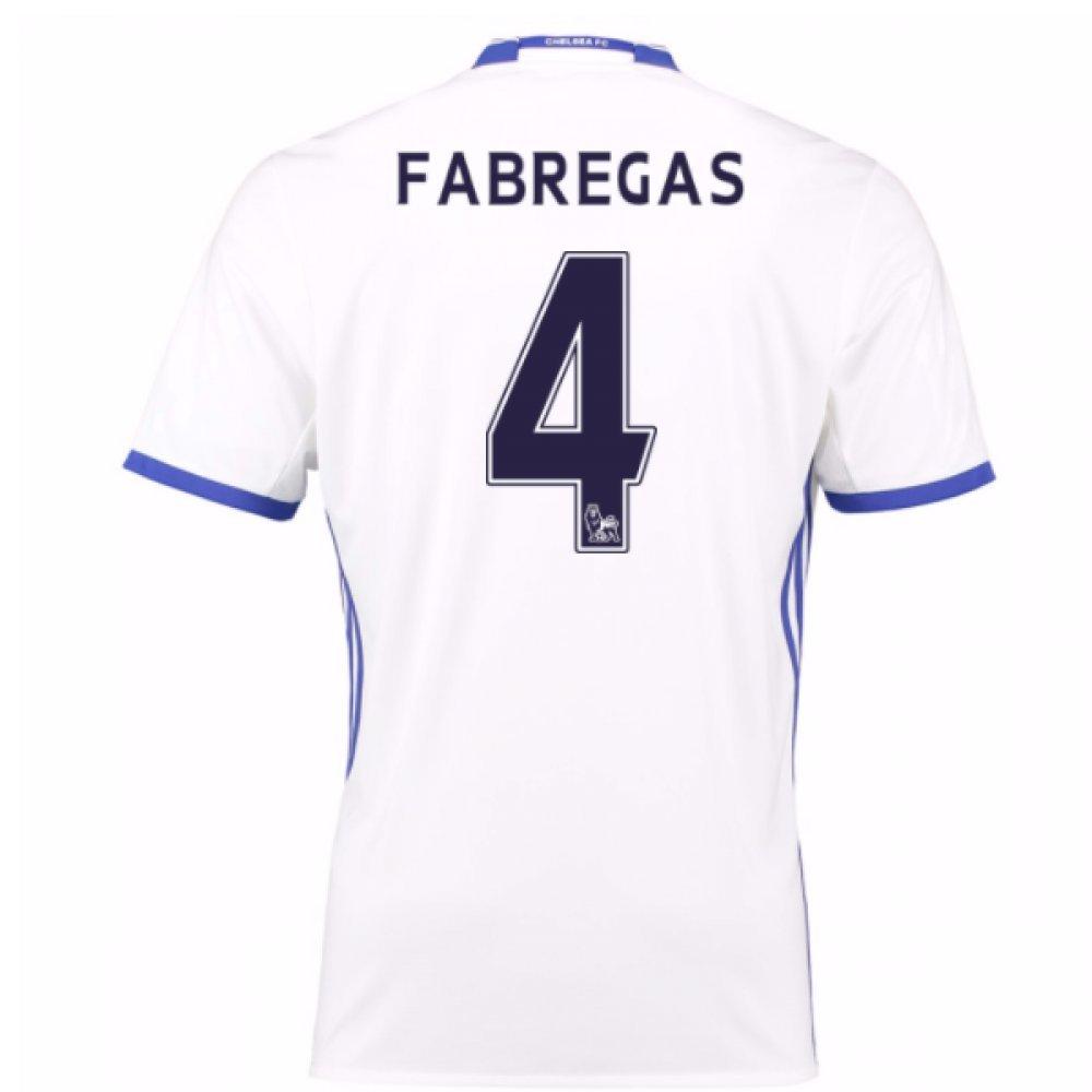 2016-17 Chelsea 3rd Football Soccer T-Shirt Trikot (Cesc Fabregas 4) - Kids