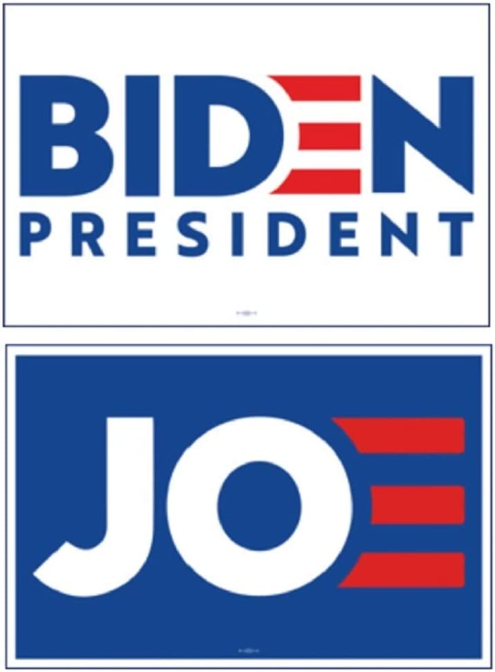 Amazon Com Patriotics 2020 Joe Biden Large Original Campaign Rally Poster Signs Set Of 2 Posters Prints