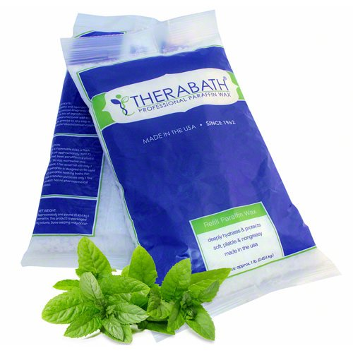 Therabath Paraffin Wax Refill - Use To Relieve Arthitis Pain and Stiff Muscles - Deeply Hydrates and Protects - 24 lbs Wintergreen by Therabath