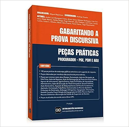 ef47ed75e Livro - Peças Práticas - Procurador - PGE
