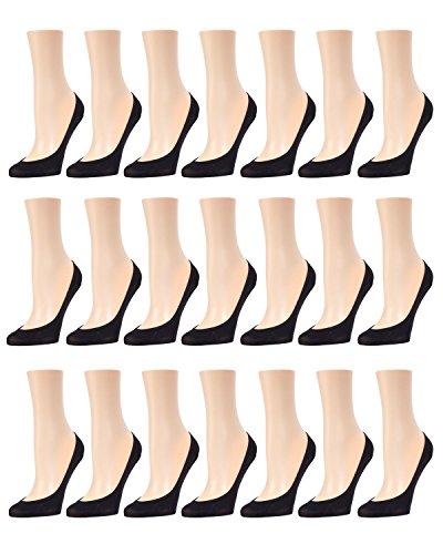 Memoi Seo Título: Ballerina Micro Liner 21 Pares Pack | Revestimientos De Zapatos Para Ballet Negro