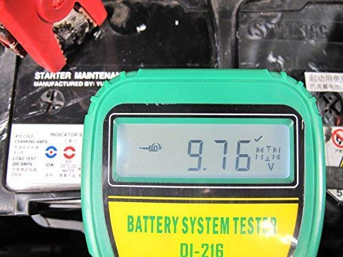 DLG DI-216 Automotive Battery Tester Vehicle Car Battery System Analyzer Diagnostic Tool by DLG (Image #6)