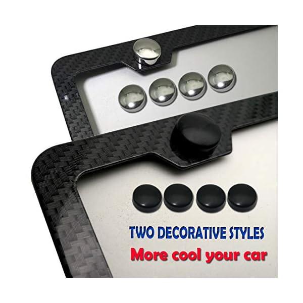 License-Plate-Frame-Carbon-Fiber-Black-Aluminum-Plate-Frame