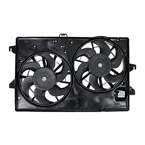 Dual Radiator A/C Air Conditioning Cooling Fan for Contour Cougar Mystique ()