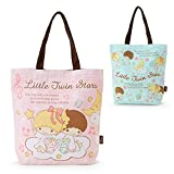 Sanrio Little Twin Stars reach tote bag starry sky dance mint From Japan New
