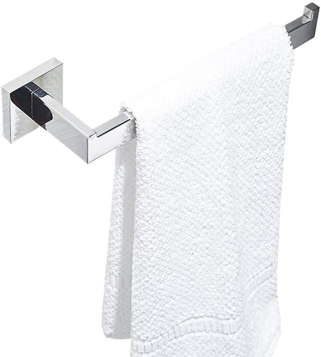 Handtuchring f/ür Badezimmer L/änge 270 mm Handtuchhalter chrom