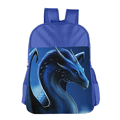 Night Dragon School Backpack For Girls Boys Cute Bookbag Outdoor Daypack