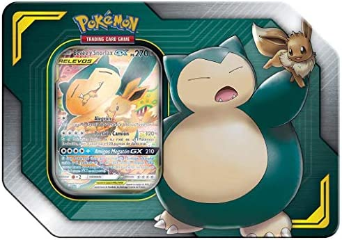 Pokemon JCC - Eeve & Snorlax Tag Team (Asmodee, POGX19042): Amazon ...