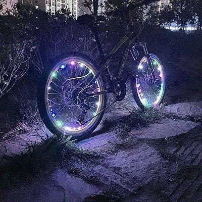 FidgetFidget Wheel LED Bicycle Safety Light Lightweight Accessory