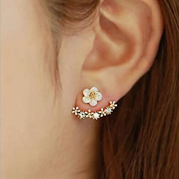 skn az american shipping and gold earrings combo stud silver large diamond flower girls women hanging for free