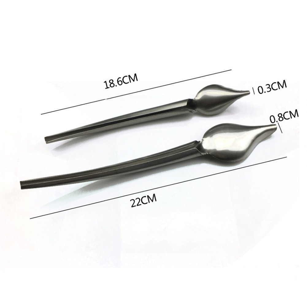 Dcrt Deco Spoon Multi-use Precision Chef Culinary Drawing Spoons for Decorating Plates, set of 2 by Dcrt (Image #3)