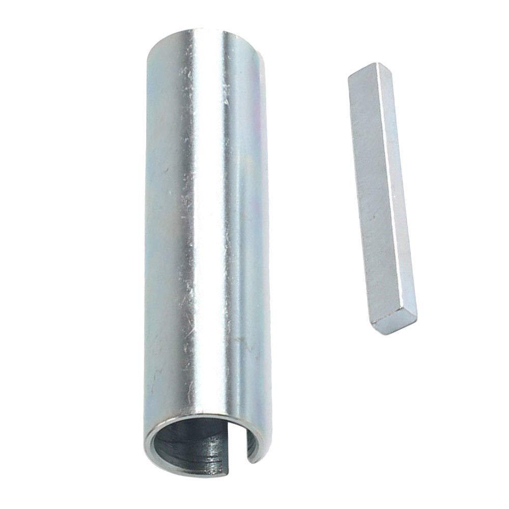 Glyqxa 5//8 x 3//4 x 3 Shaft Adapter Pulley Bore Reducer Sleeve Bushing Sheave/&Key