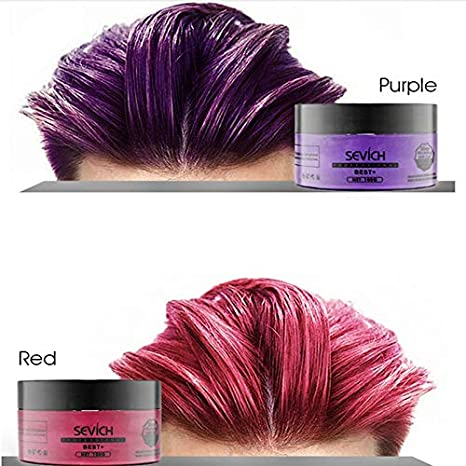 Amazon.com: 1 piece Women Men Hair Coloring Wax DIY Hair ...