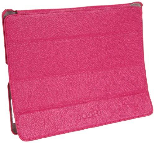 Lthr Hard Case - Bodhi iPad 2 Smart Cover B2719990BFUS Briefcase,Fuschia,One Size