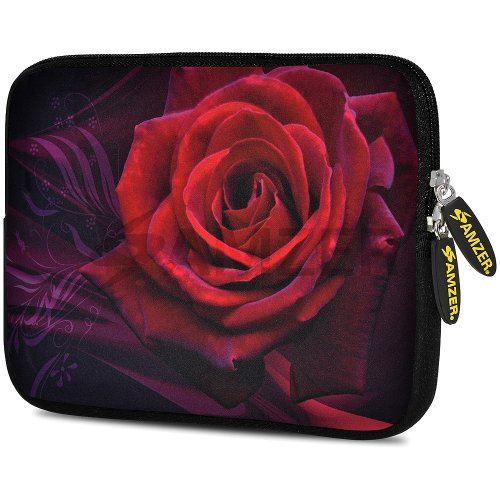 amzer-105-inch-designer-neoprene-sleeve-case-pouch-for-tablet-ebook-and-netbook-rose-amz5009105
