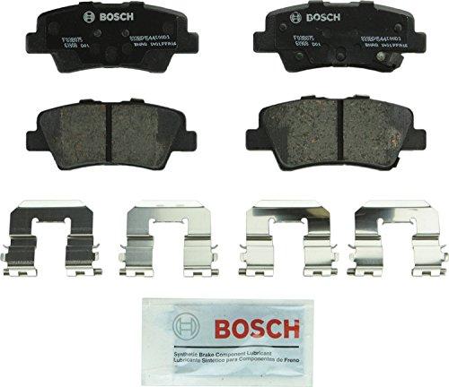 Bosch BP1544 QuietCast Premium Semi-Metallic Disc Brake Pad Set For Hyundai: 2012-2017 Accent, 2011-2016 Elantra, 2013-2014 Elantra Coupe; Kia: 2014-2017 Optima, 2012-2017 Rio; Rear