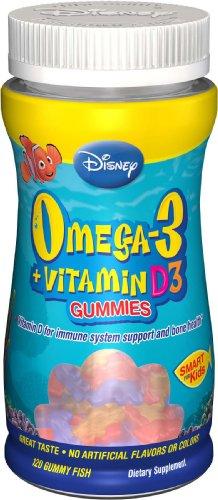 Disney Oméga-3 + vitamine D3 pour