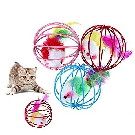 Juguete de ratón para gatos y mascotas de Broadroot Juguete de felpa para gatos y mascotas.: Amazon.es: Productos para mascotas