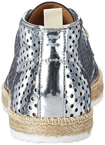 Argenté 02 Femme Boots Eclipse Chukka Silver NoBrand gznqIRvwx
