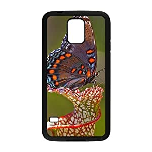 Butterfly Custom Cover Case for SamSung Galaxy S5 I9600,diy phone case ygtg522394